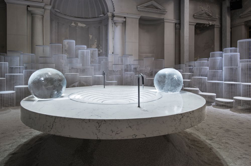 Caesarstone's  Altered States  installation by Snarkitecture. Photo by David Zanardi.