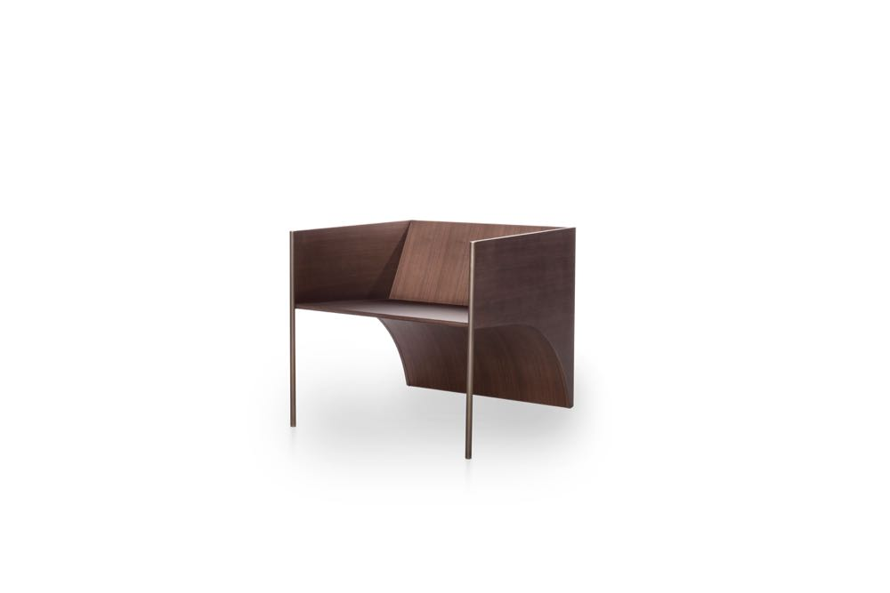 'QD 01' lounge chair by David Lopez Quincoces for Six Gallery.