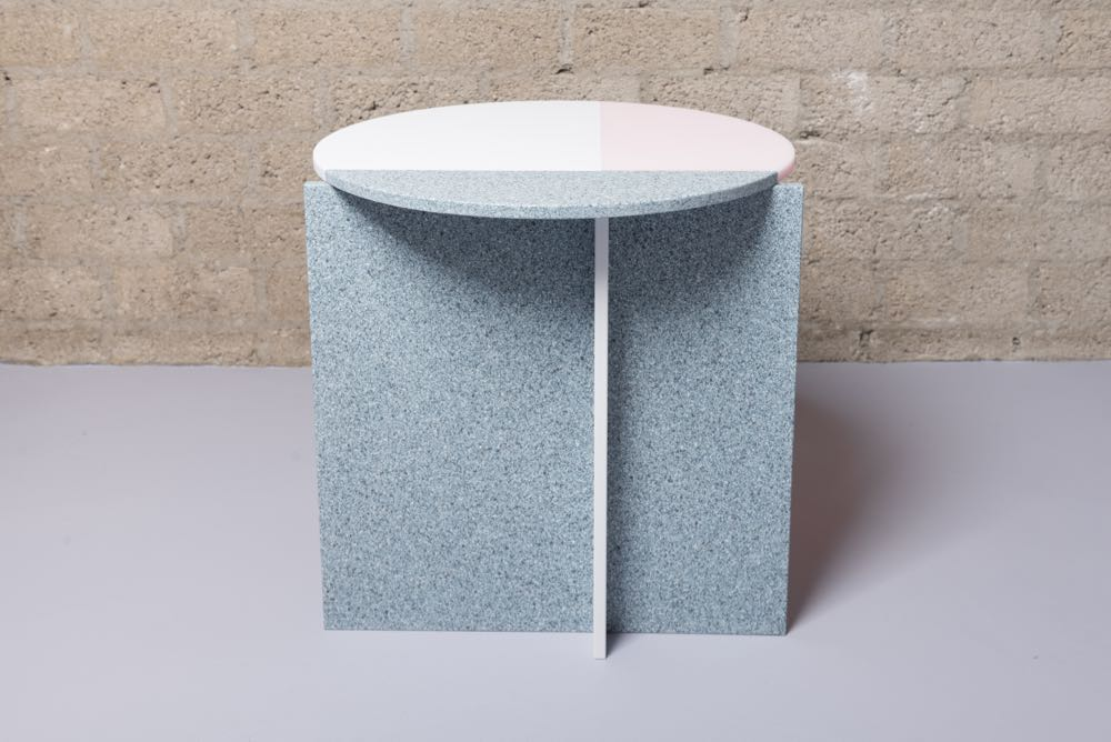 Studio Thier van Daalen's 'Solid / Liquid' side table.