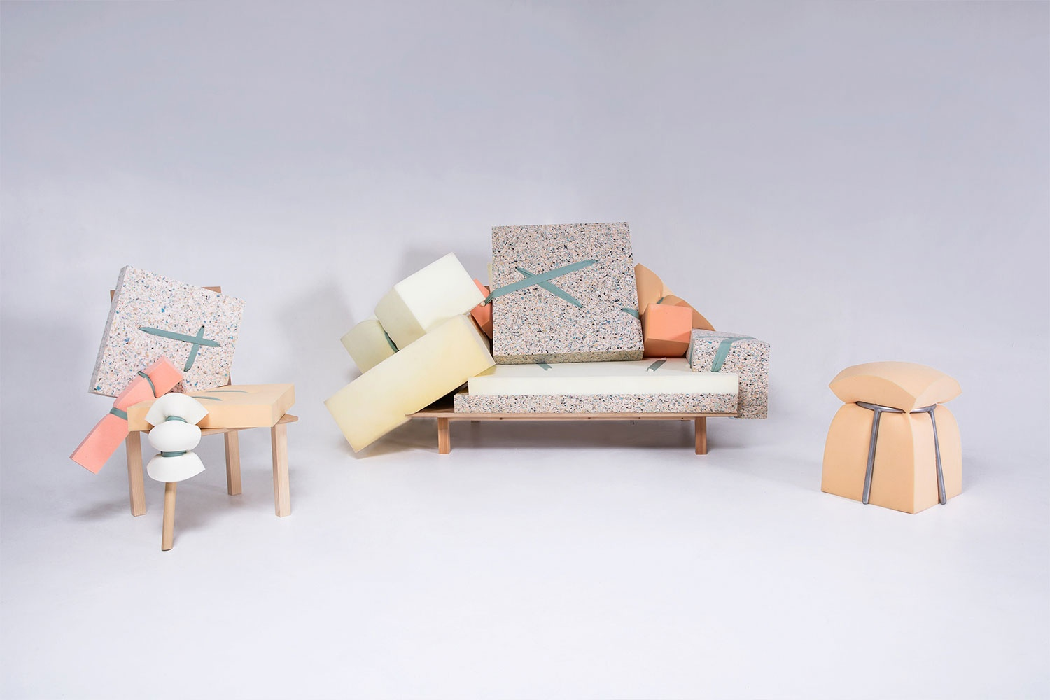 Trianyi Shi Design's  Inside Out  furniture collection.