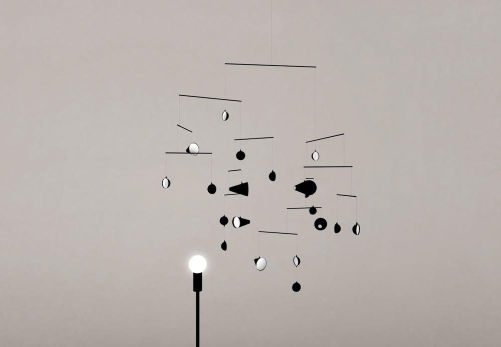 'Moon,sun'by Japanese designer Hiroto Yoshizoe.