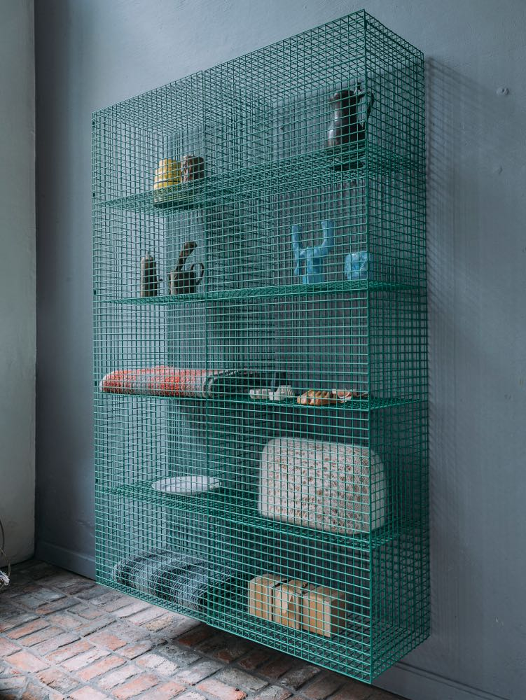 Wire cabinet of Muller Van Severen from the Wire collection Number 1.