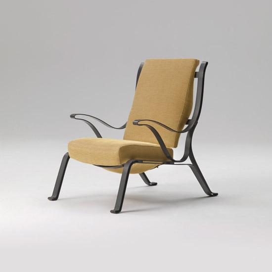 The P3 Battibius armchair by Luigi Caccia Dominioni from 1959.