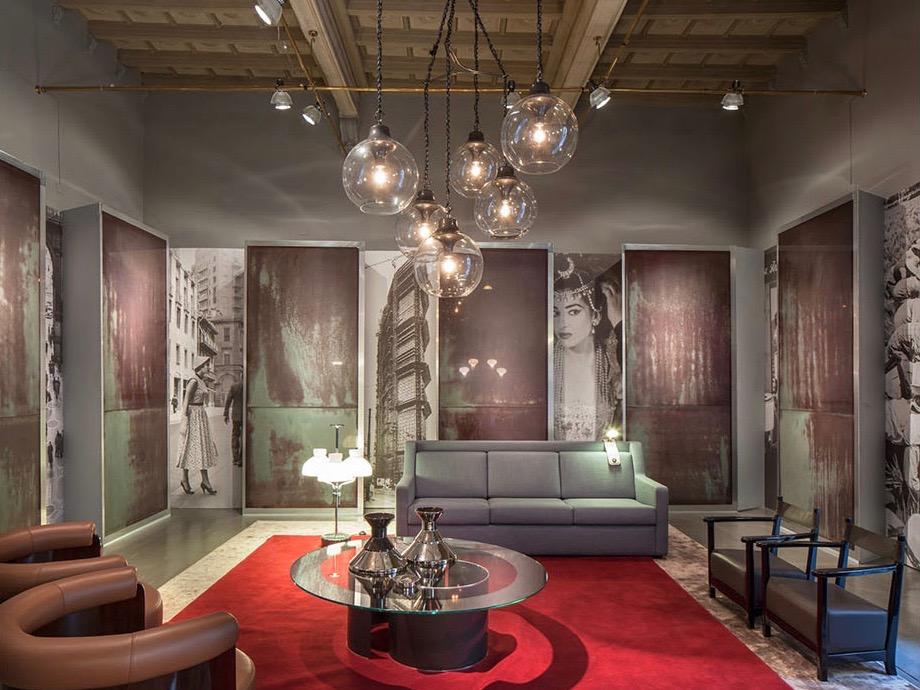 The Azucena showroom in Via Manzoni designed by Dimore Studio in 2013.