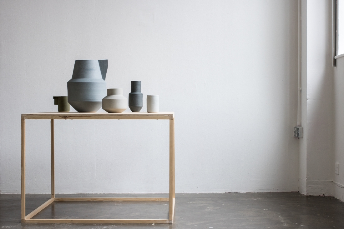 An image from Tom Morris' book New Wave Clay which features the work of Derek Wilson among other important contemporary ceramic artists.