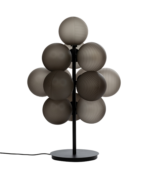 The 'Grape' table lamp by Sebastian Herkner for Pulpo.