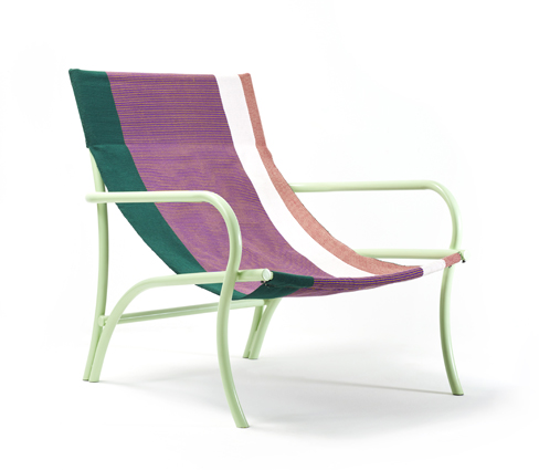 Sebastian Herkner's 'Maraca' outdoor armchair for Ames.