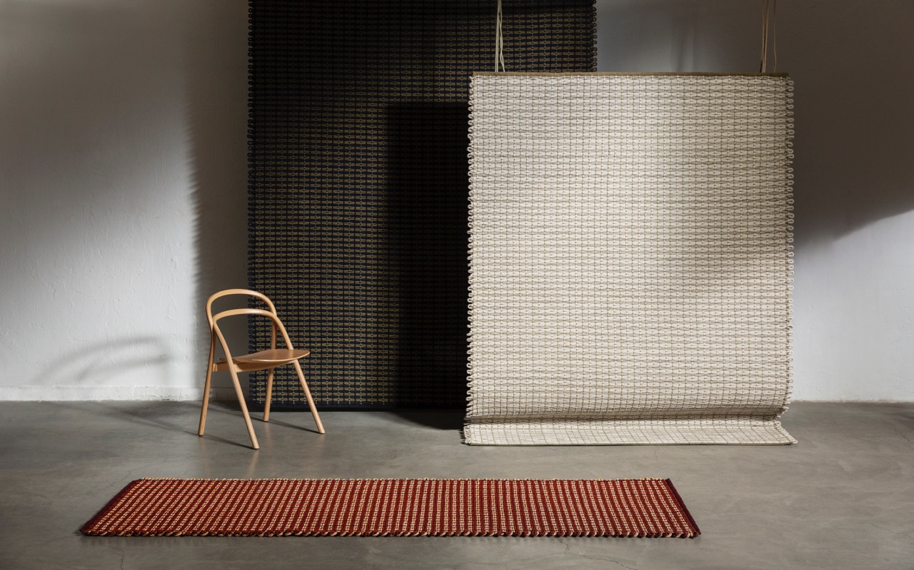 'Rope' rugs by Pauline Deltour for HEM.