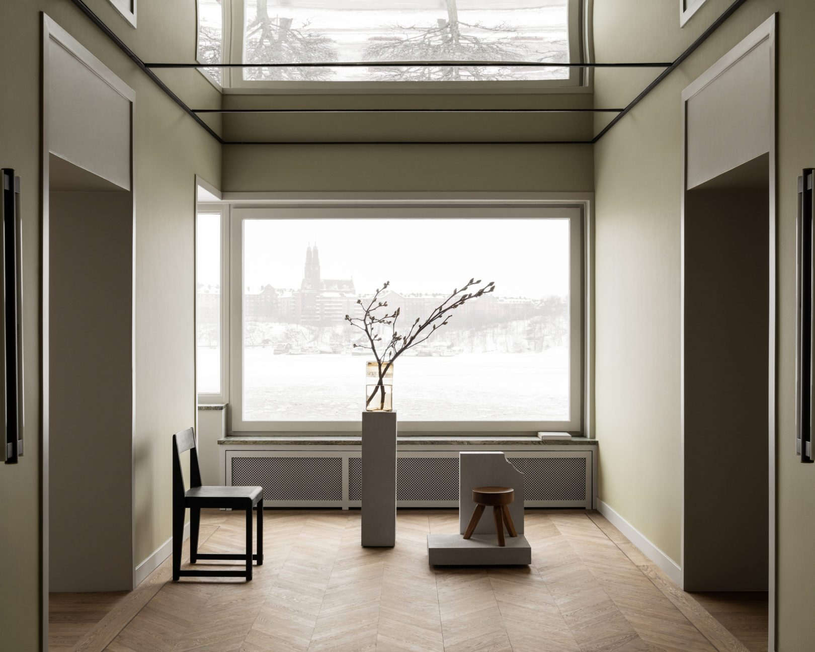Frama presented 'Spatial Sensibilities' in collaboration with architect Andreas Martin-Löf.