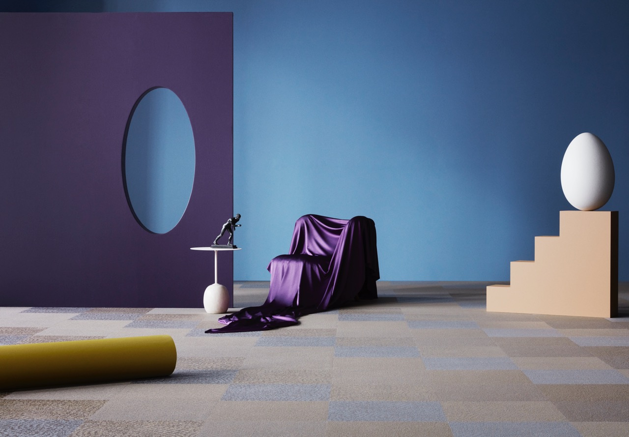 Imagery for the new  Diversity  range from Bolon.