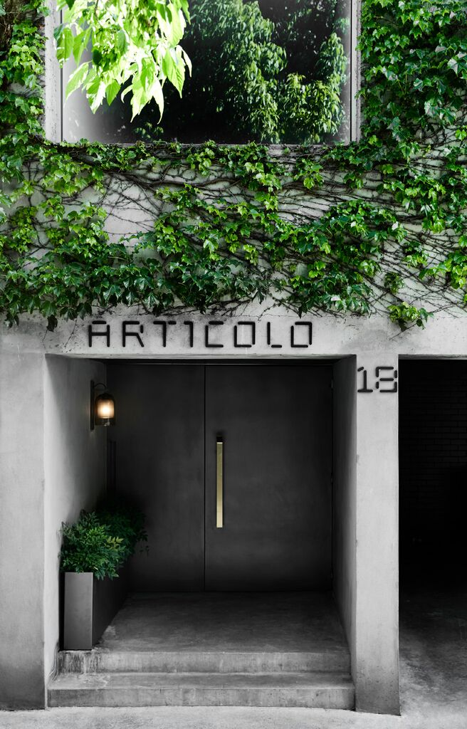 Articolo's Melbourne flagship store at 18 Willis st Richmond , Victoria.