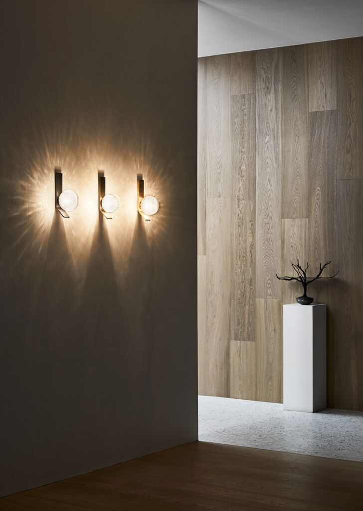 Articolo's flagship showroom in Melbourne with Fizi wall sconces. Photograph by Sharyn Cairns.