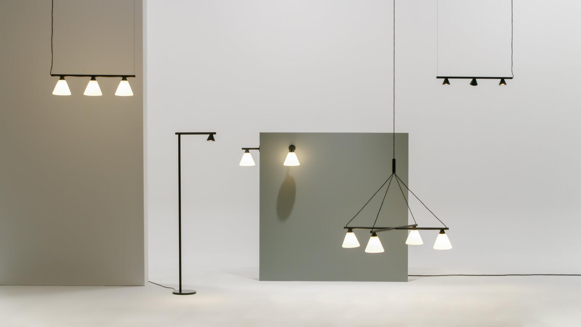 'Probe' pendant light by Swiss design studio Big-Game for Korean brand AGO Lighting.