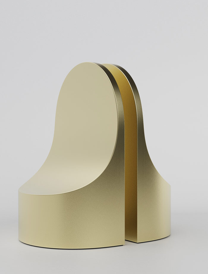'Emoji' bookends by Alain Gilles for XL Boom.