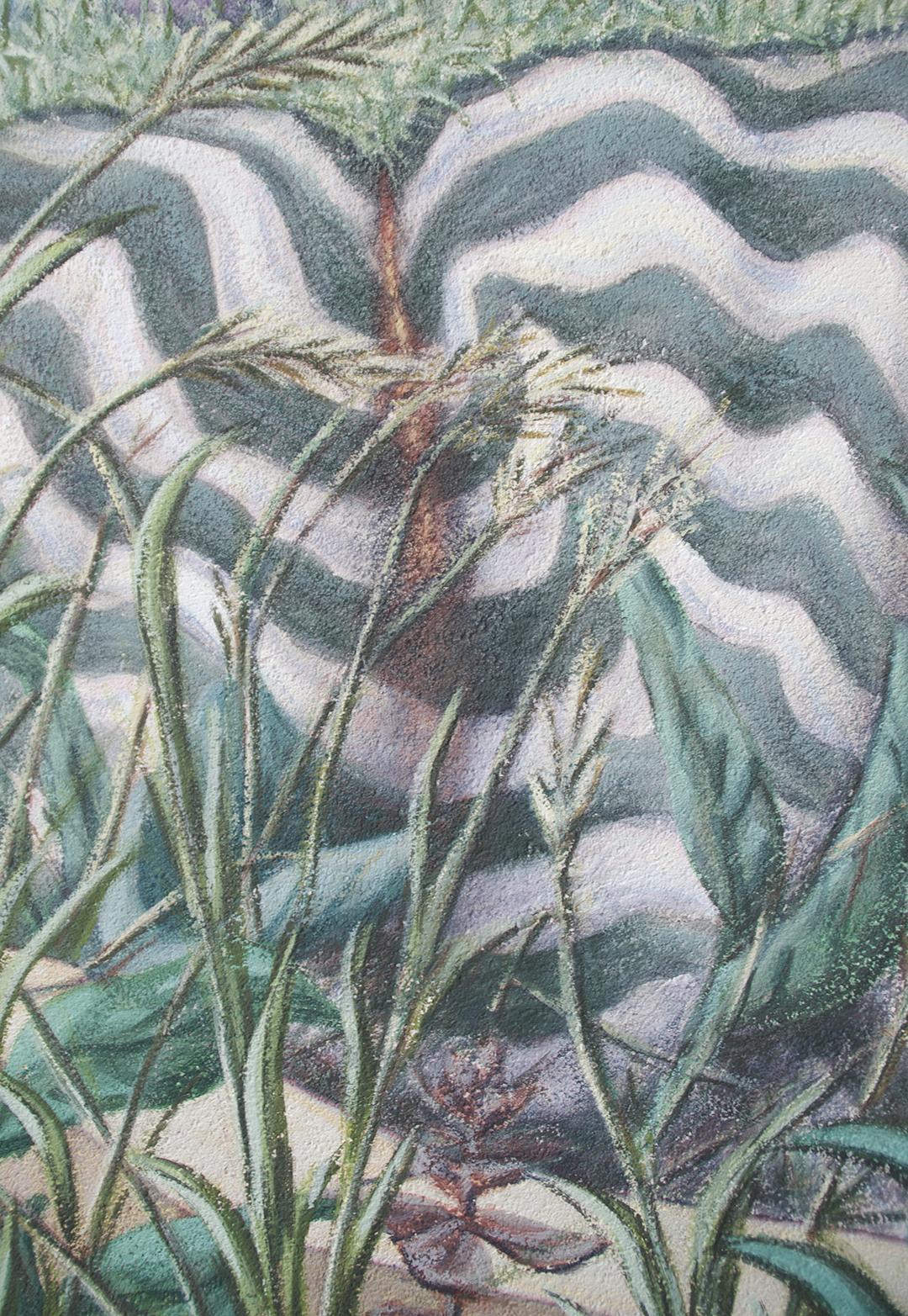 Plateau , detail