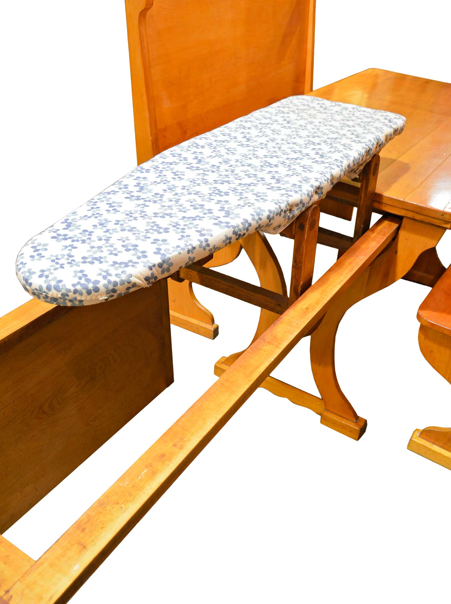 46043-maple-breakfast-nook-with-pull-out-table-ironing-board-up.jpg