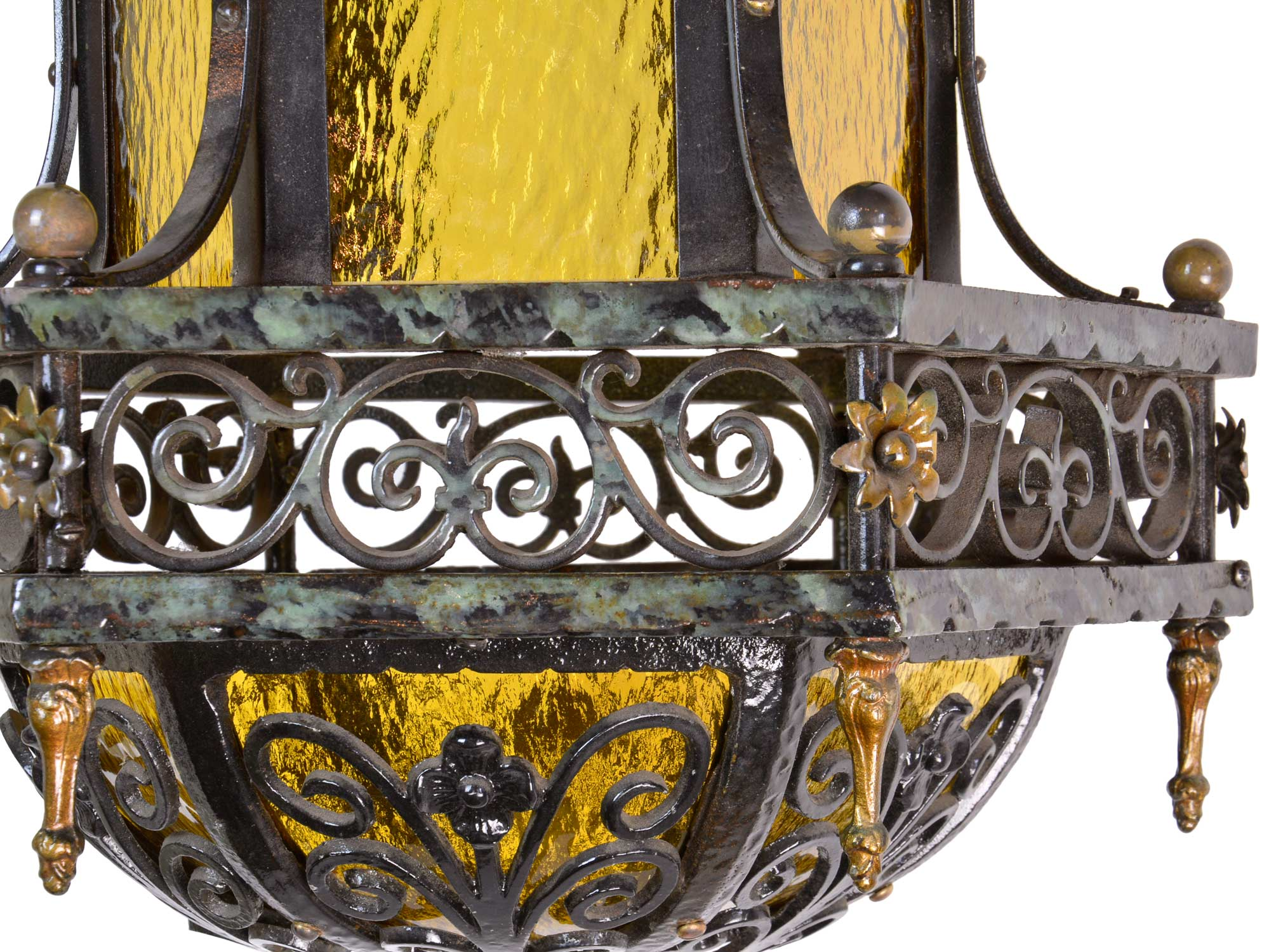 45961-bent-amber-glass-and-iron-chandelier-with-floral-details-scrolls.jpg