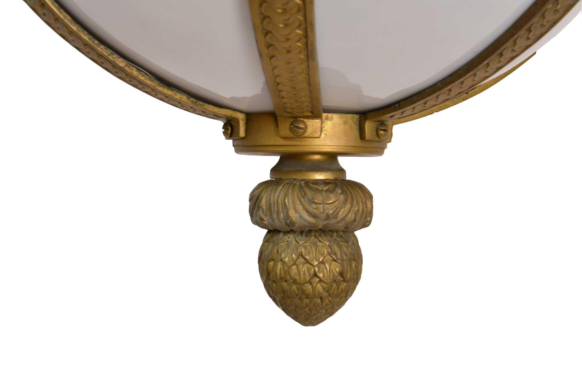 46136-Brass-Light-with-Bent-Glass-close-up-of-bulb.jpg