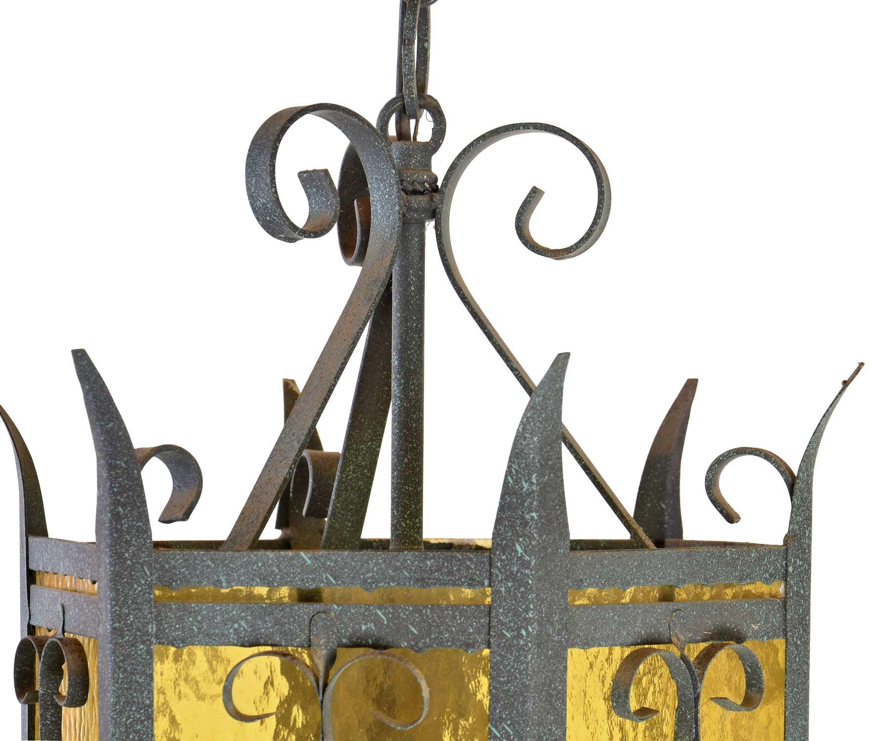 46371-steel-and-amber-glass-pendant-lantern-top.jpg