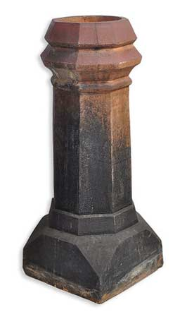 http://www.archantiques.com/sold/fired-beveled-top-chimney