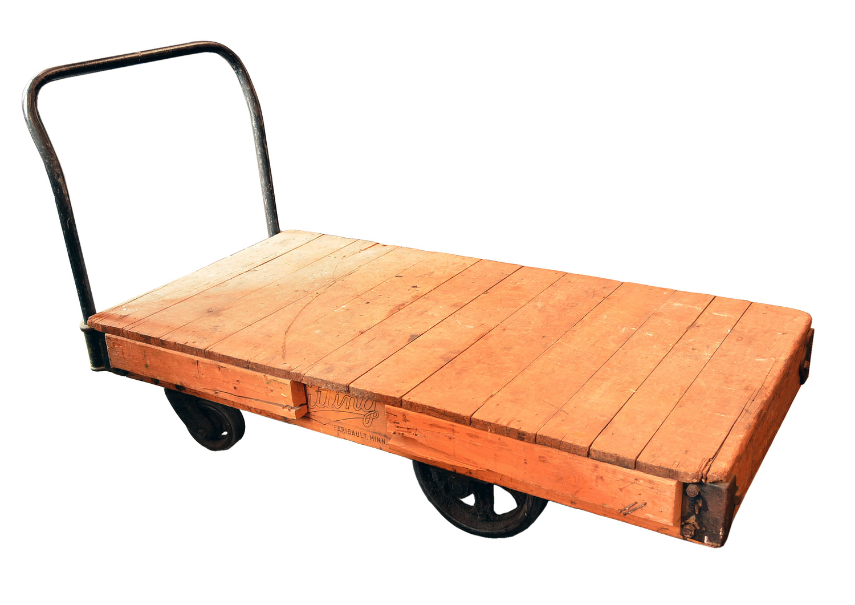 Architectural Antique's Warehouse Cart