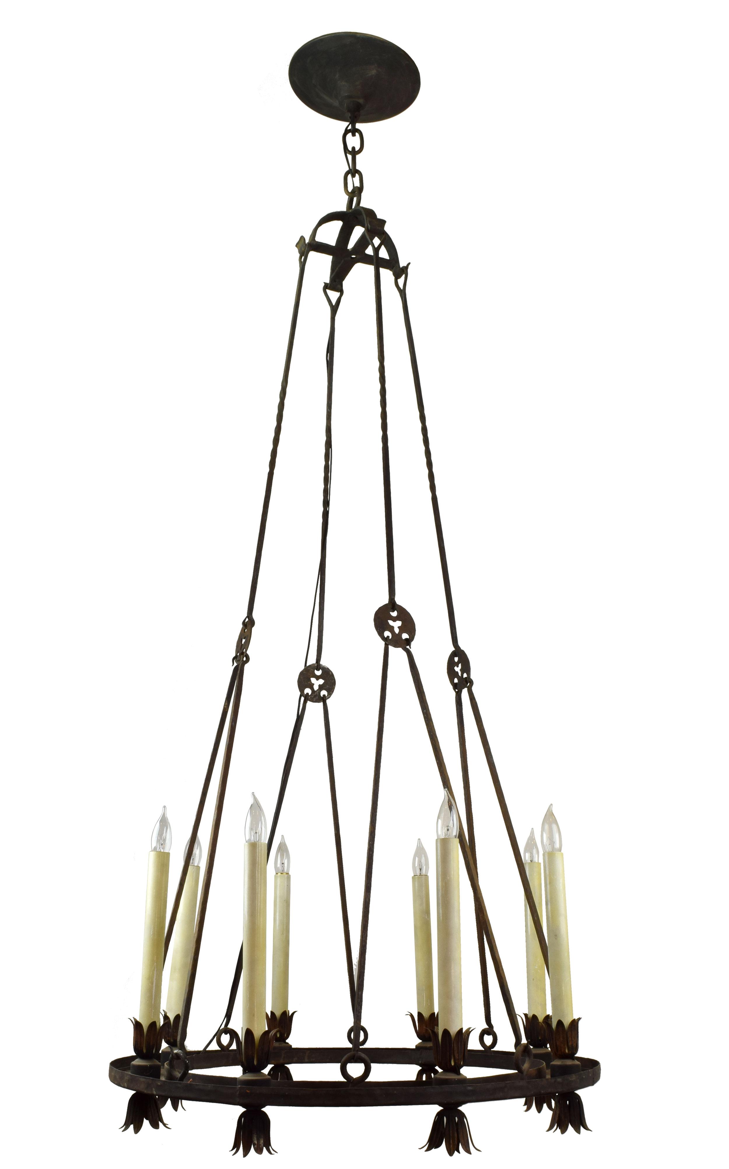 82168 round iron chandelier MAIN.jpg