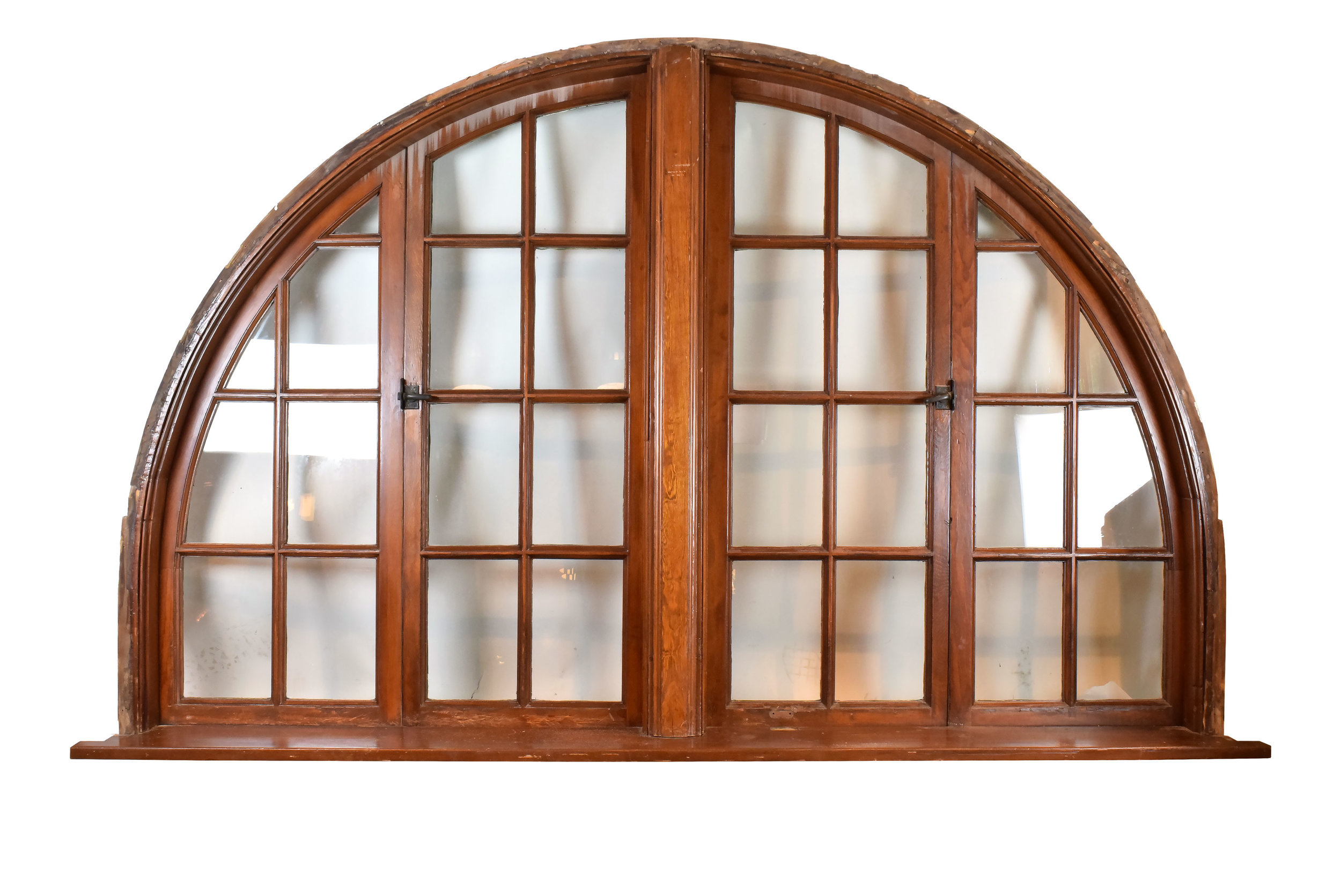 Architectural Antique's Large Arched Window