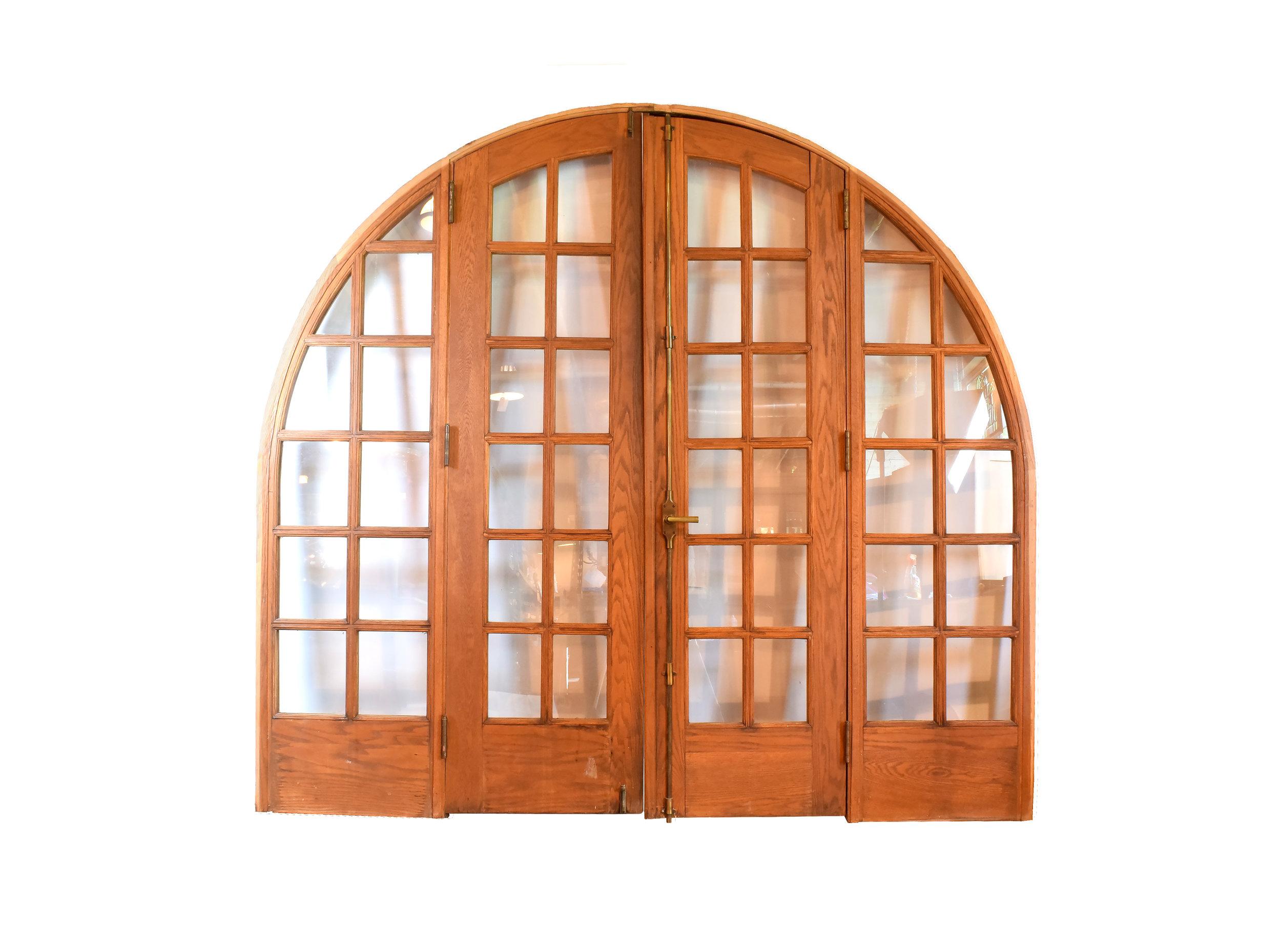 Architectural Antique's Large Arched Door Unit