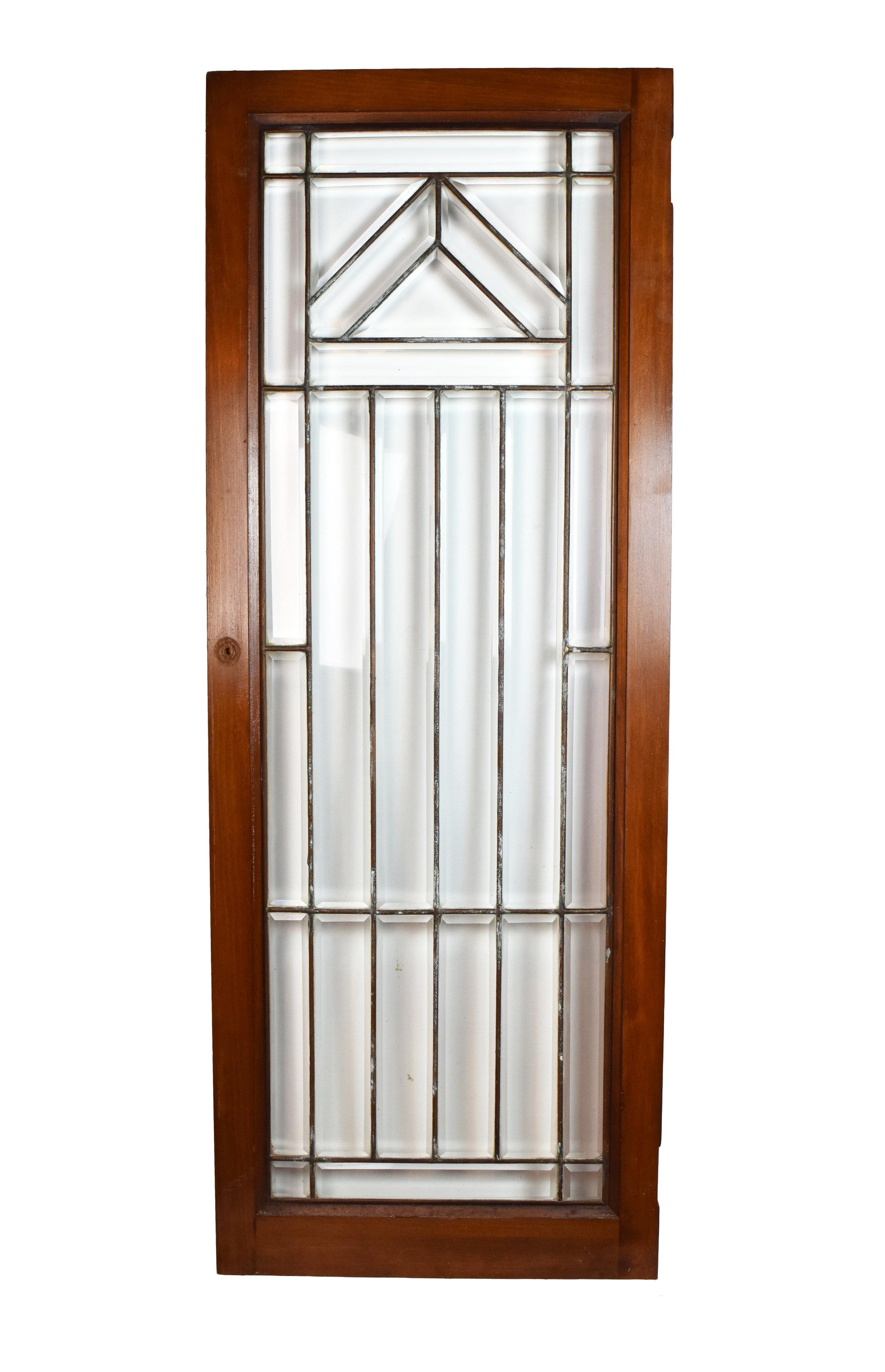 arts & crafts beveled cabinet doors