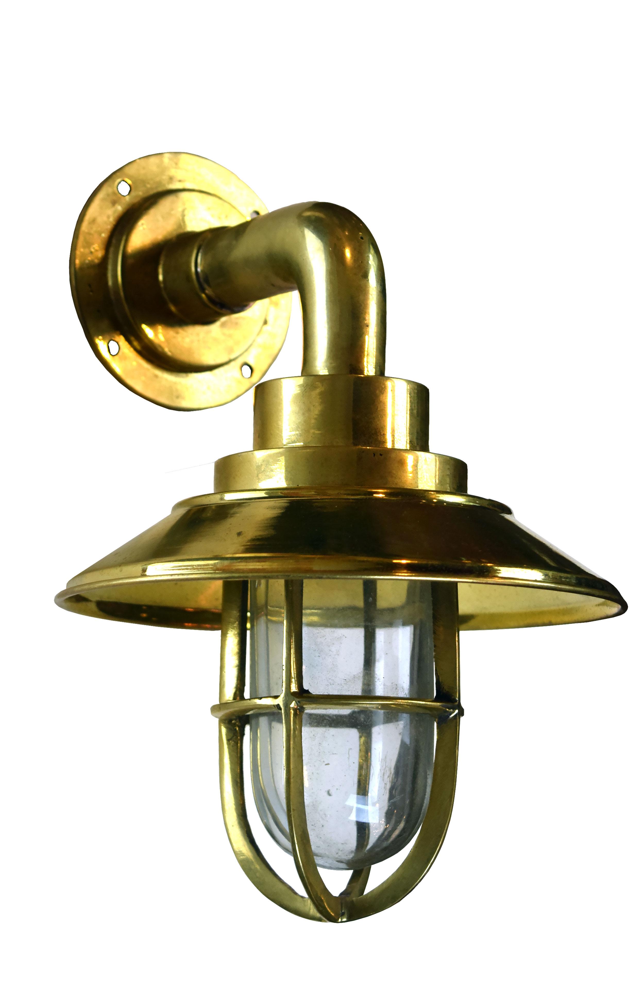 small brass nautical sconces