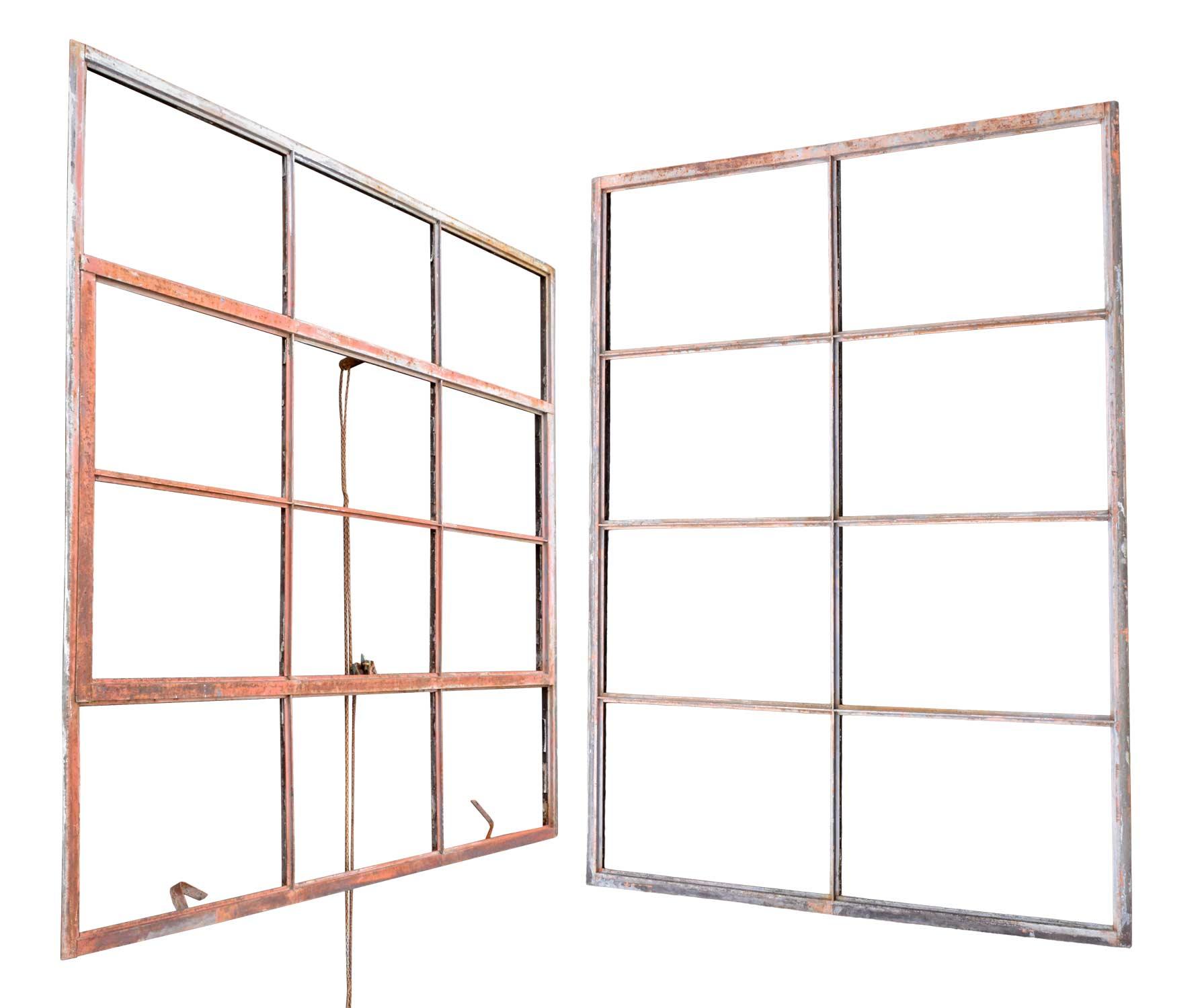 iron warehouse windows