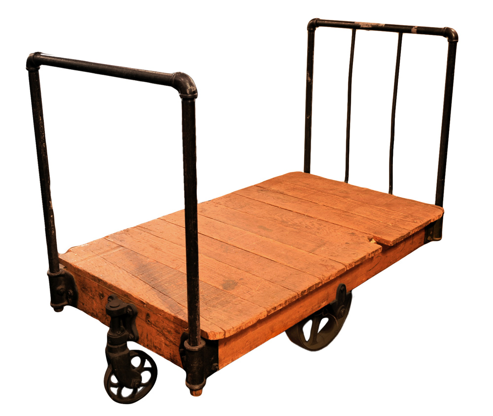 2-handle warehouse cart