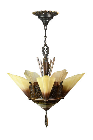 Art Deco Chandelier available at Architectural Antiques!