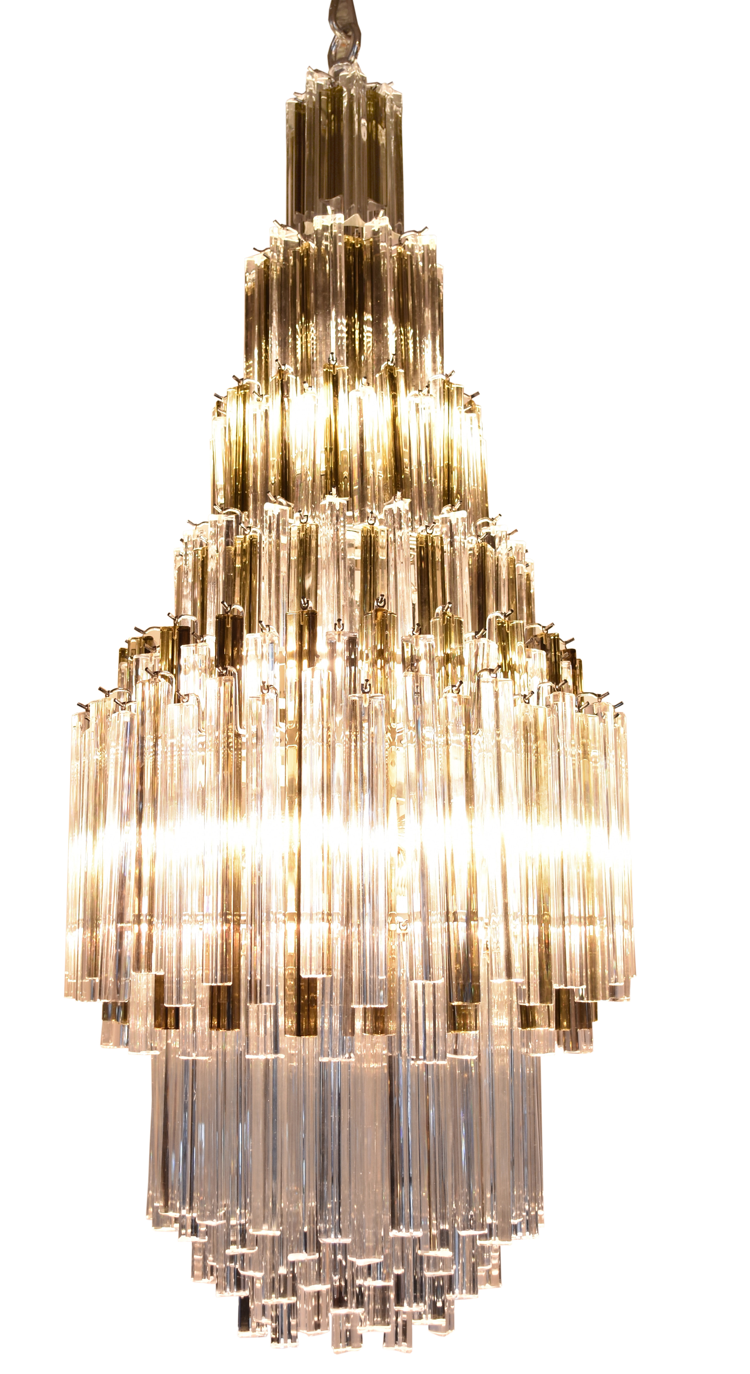 1960's venini chandelier