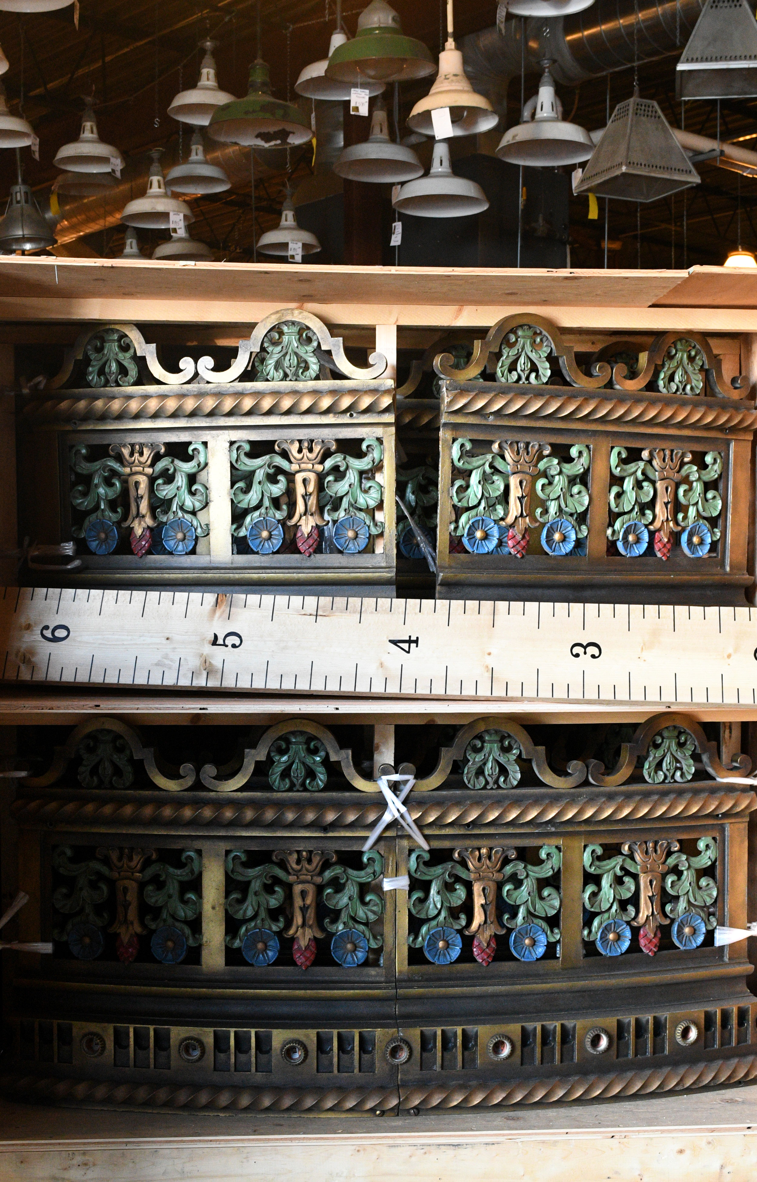 47783-massive-12-ft-chandelier-panel-crate-measuring-stick.jpg