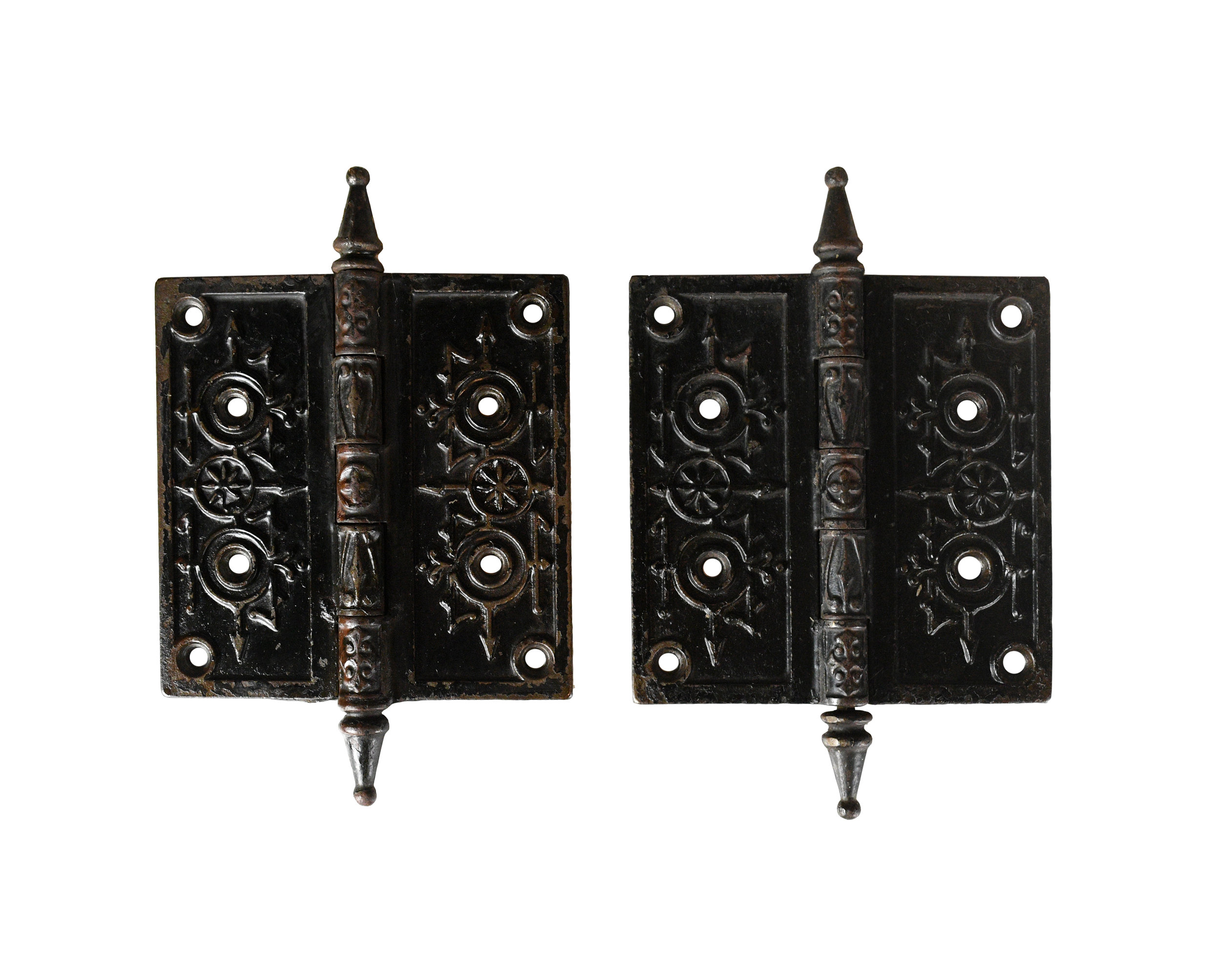 victorian steeple hinge pair