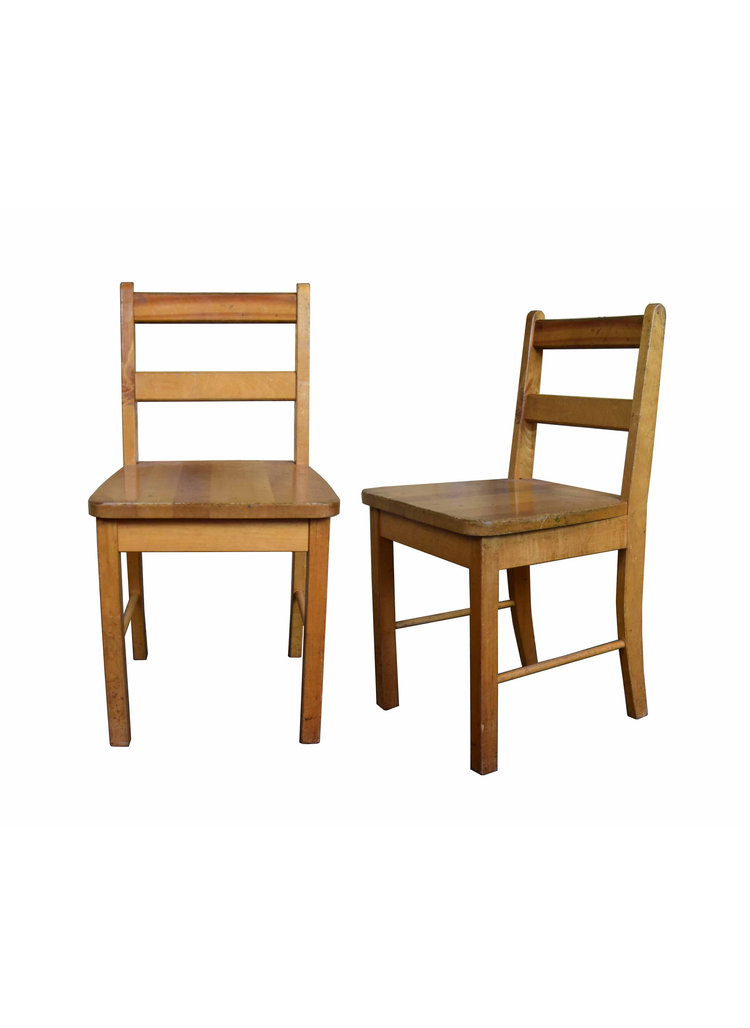 maple kids chairs