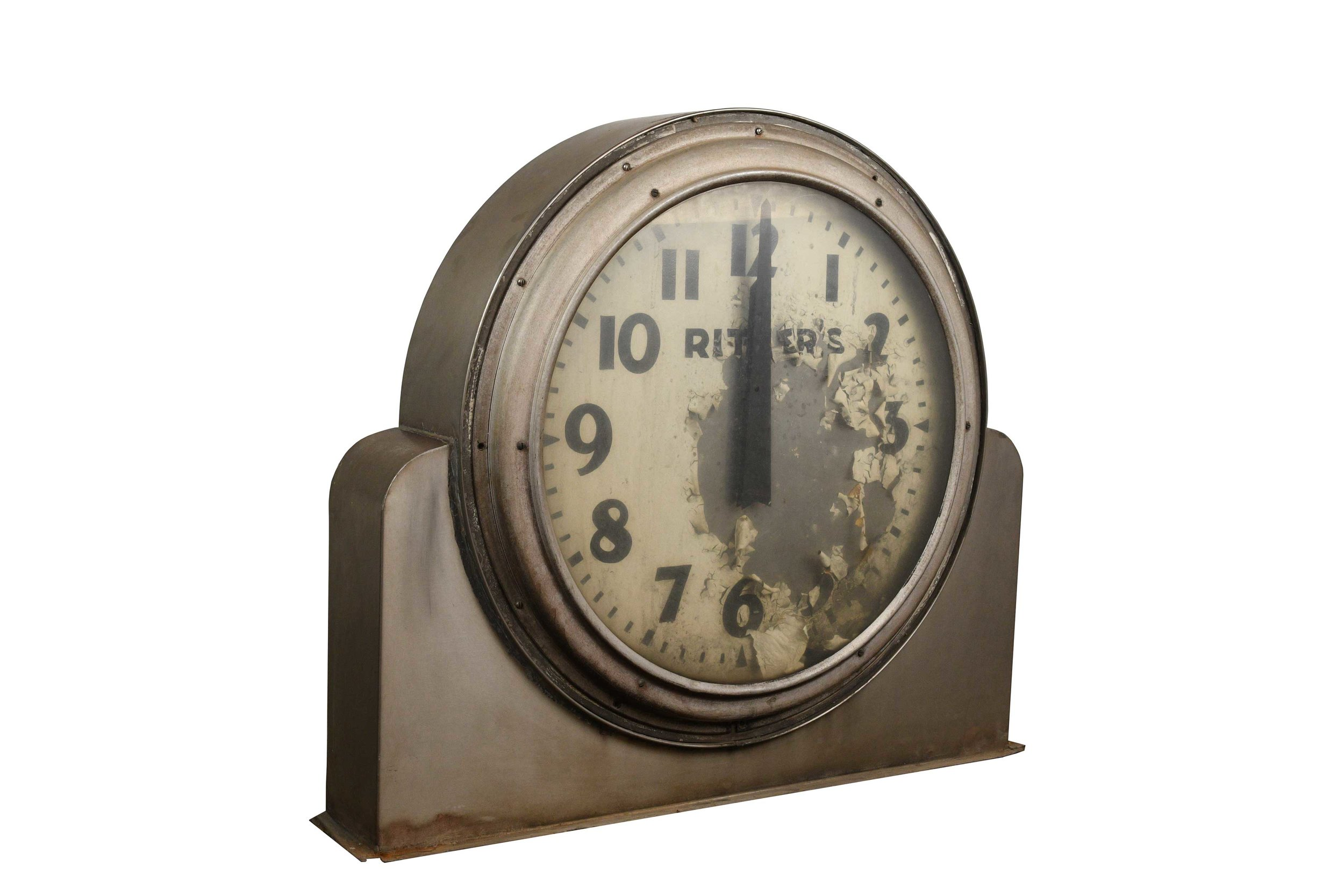 large ritters clock