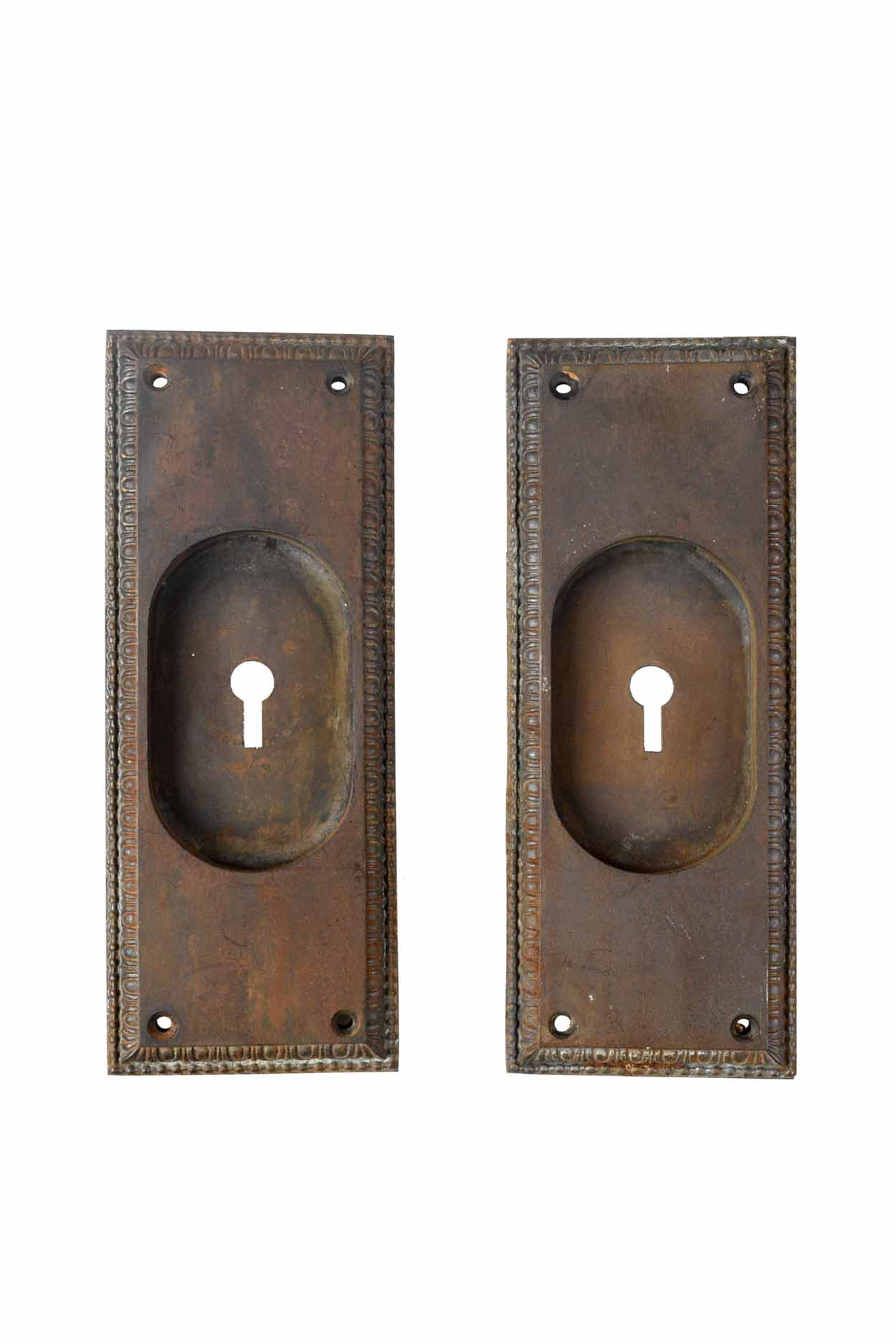 EGG AND DART POCKET DOOR INSET HANDLE LARGE AA# H20185   2 available   $45.00 each