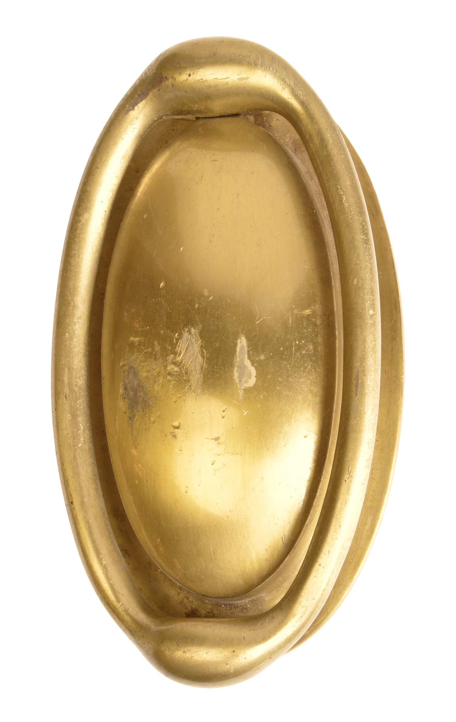 OVAL BRASS DOOR KNOCKER AA# 45896   SOLD!
