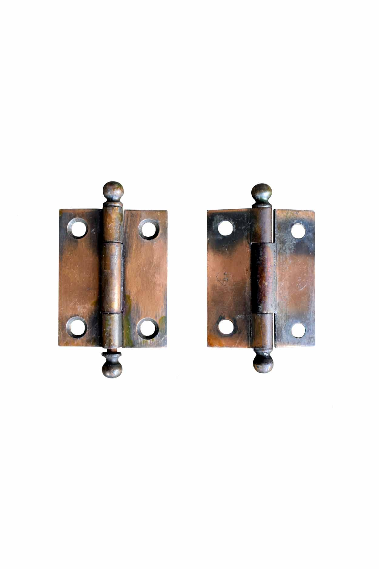 "GILT AND SATIN 1.5"" X 2"" CABINET HINGES AA# H20141   26 available in 2 varieties from $22.00 each"