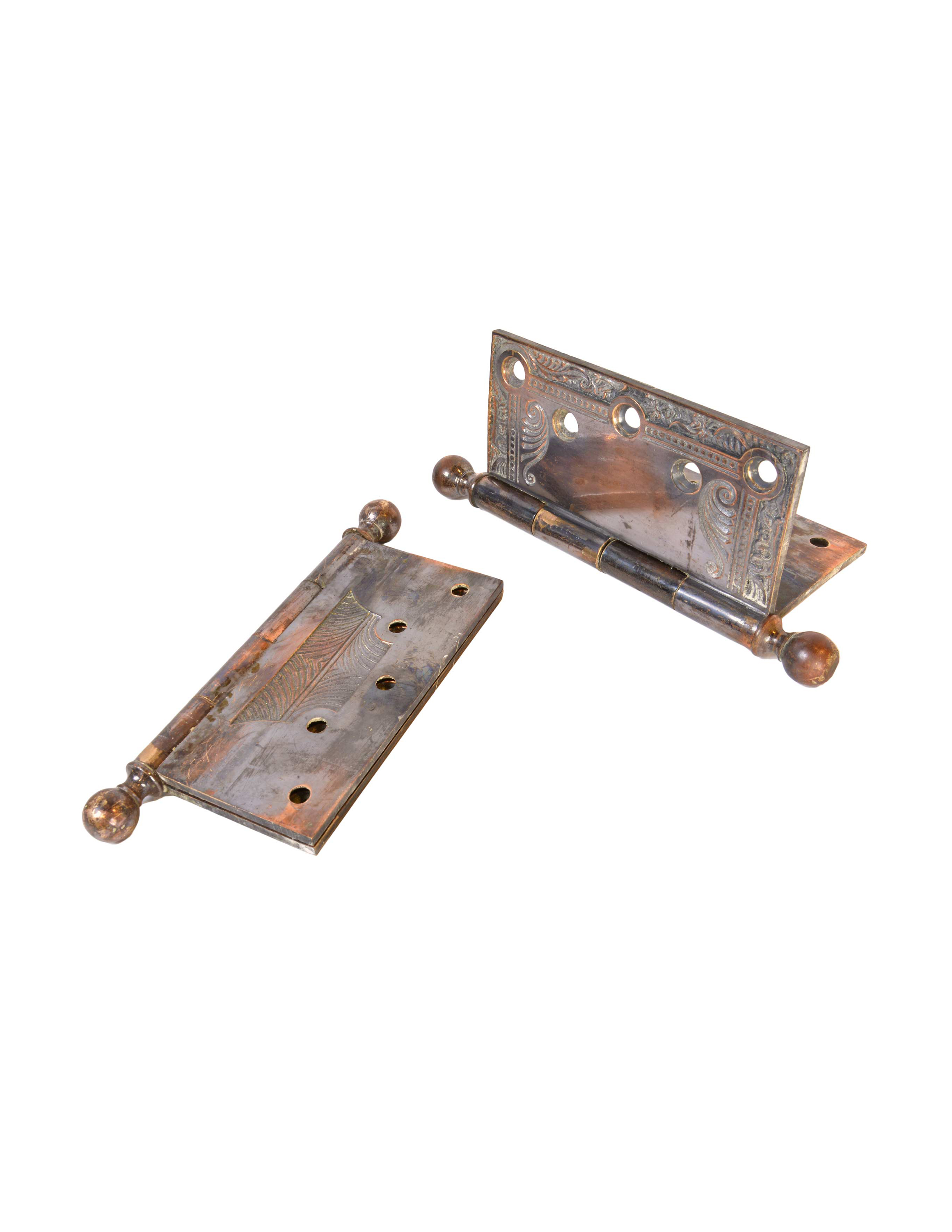 SARGENT AND CO. CAST BRONZE VICTORIAN HINGES AA# H20014   6 available $125.00 each