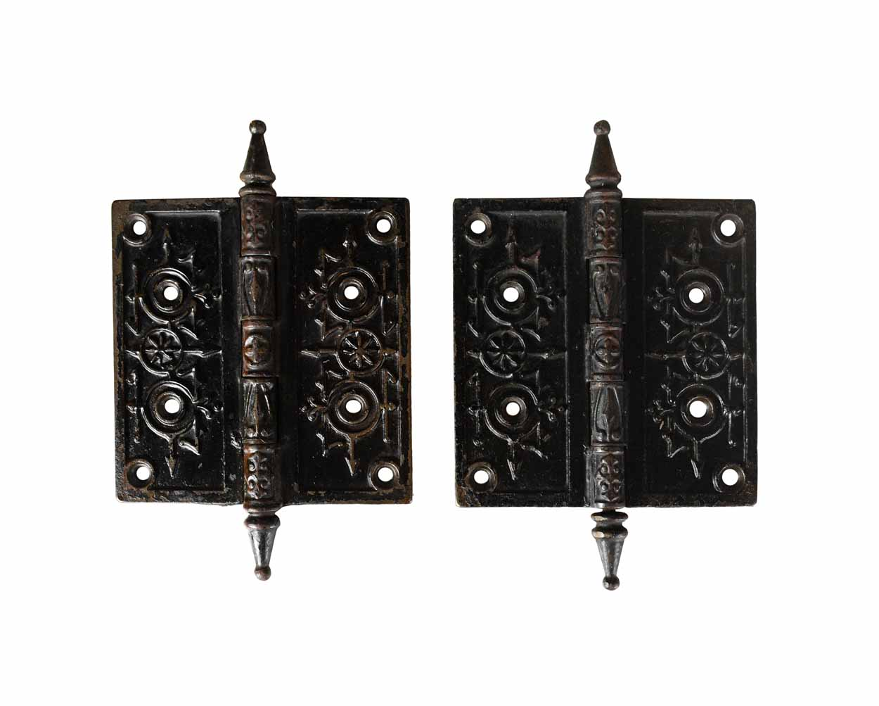 LARGE VICTORIAN HINGE PAIR AA# 43887   1 pair available $195.00 for pair