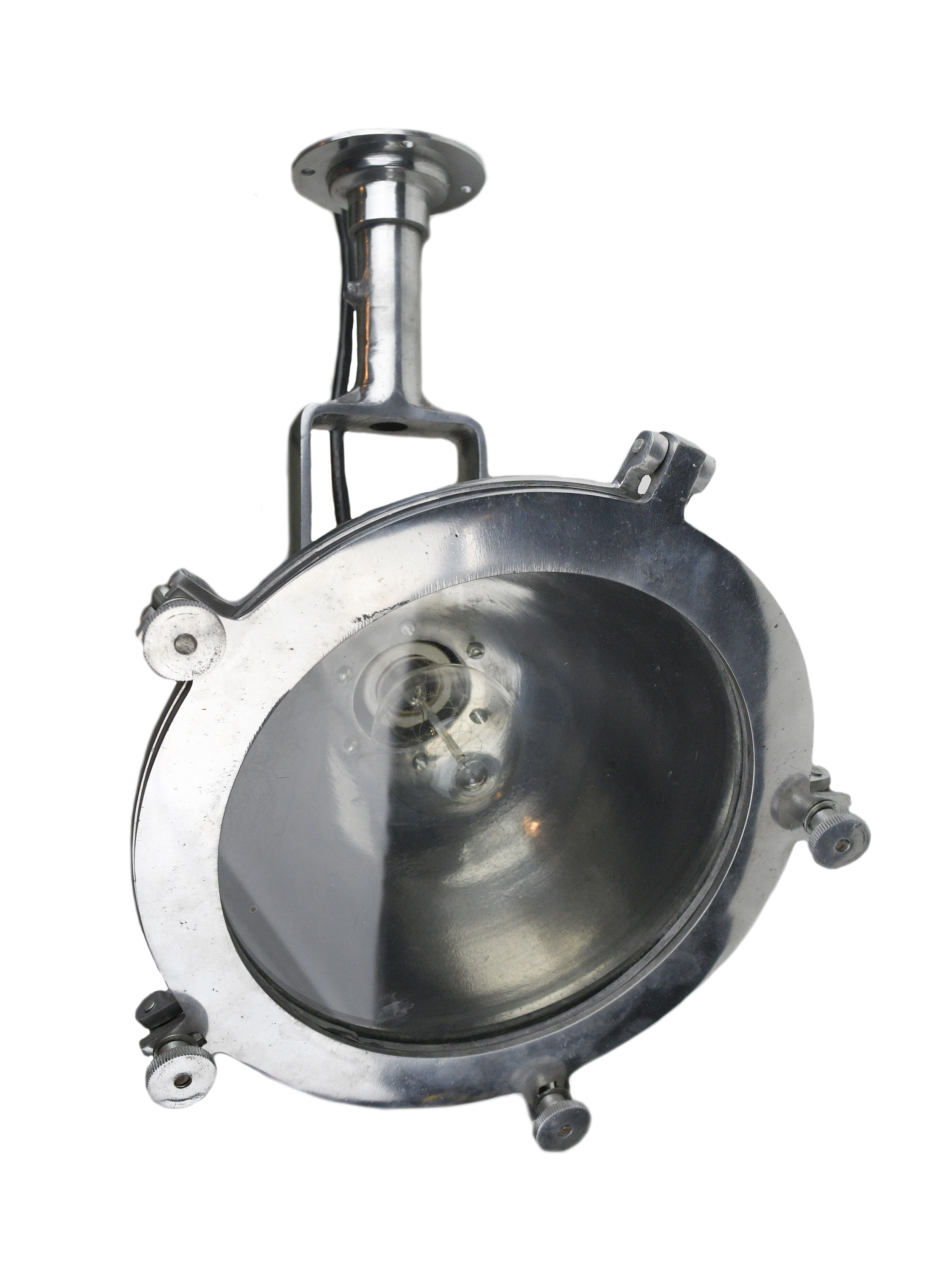 Nautical aluminum hanging lamp     Click here for more information