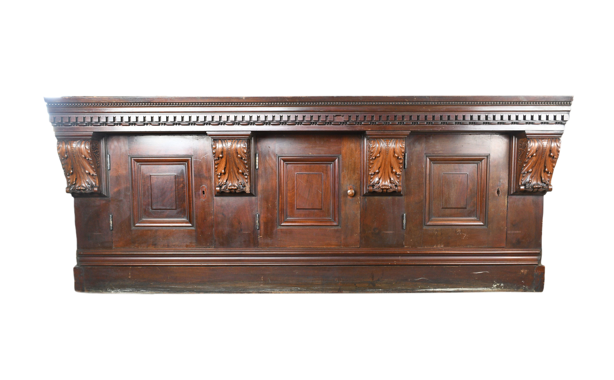 HAND CRAFTED PITTSBURGH OLIVER HOUSE CABINET    Click here for more information