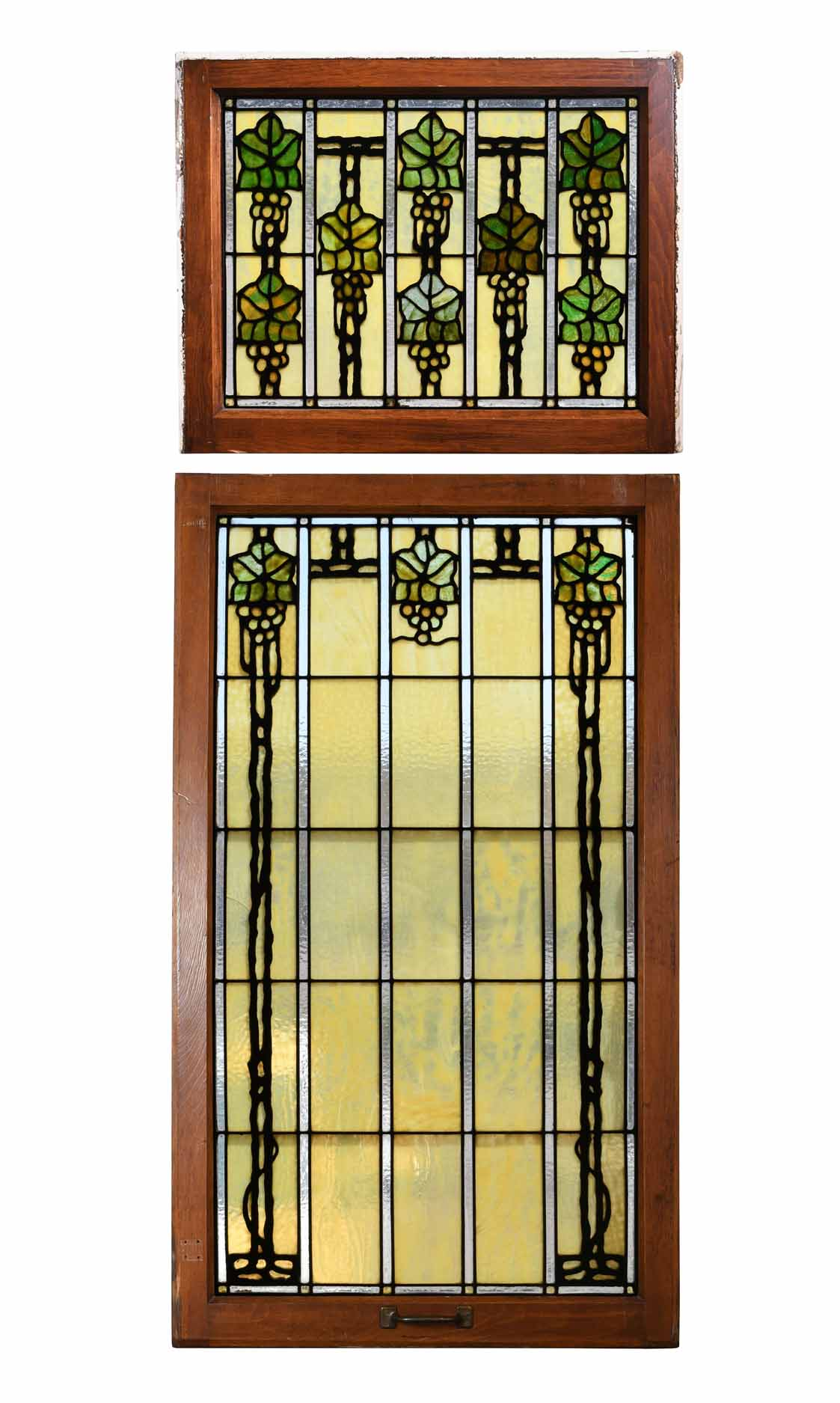 BRADSTREET STAINED GLASS WINDOW SET    Click here for more information