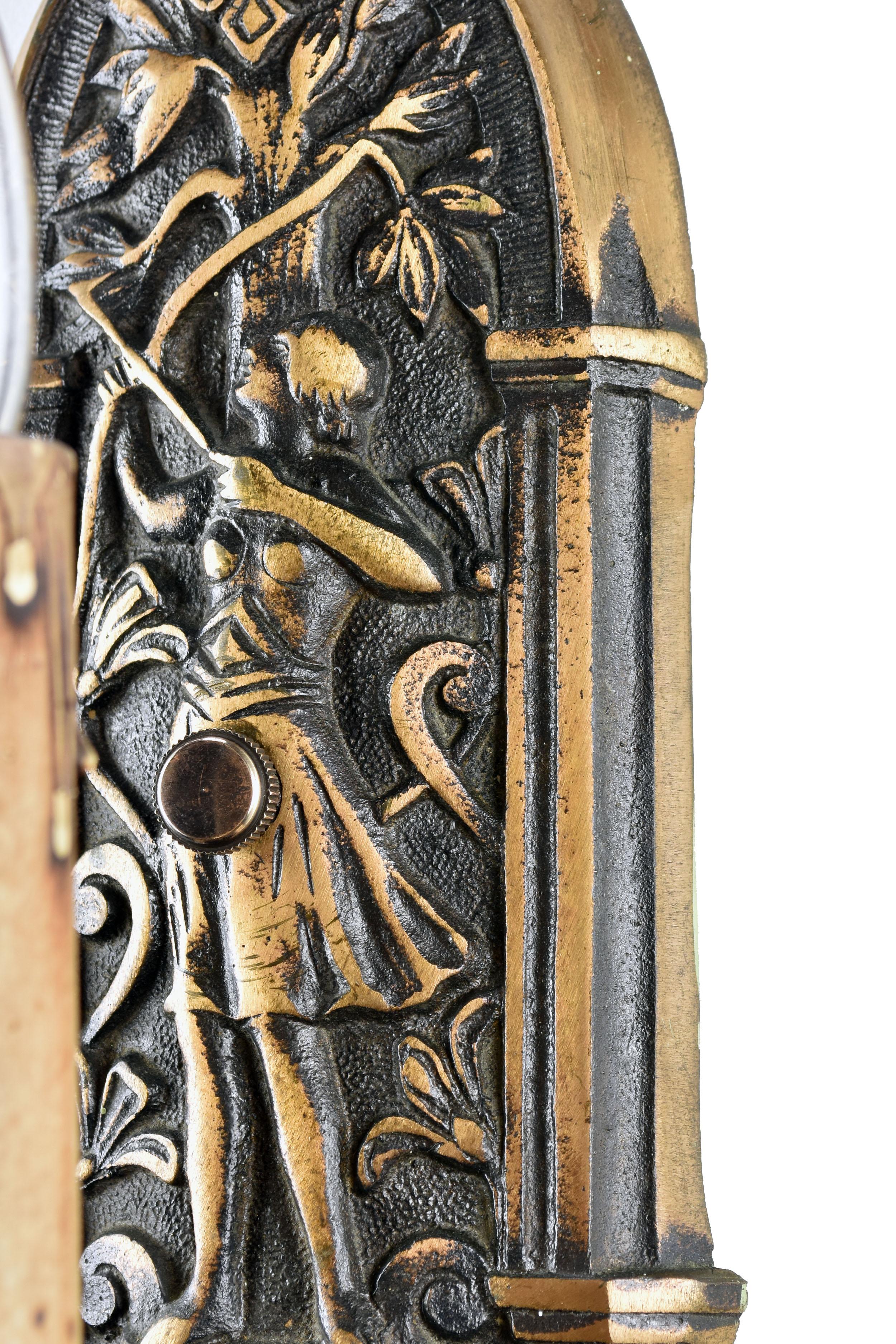 48426 single candle bronze archer sconce close 2.jpg