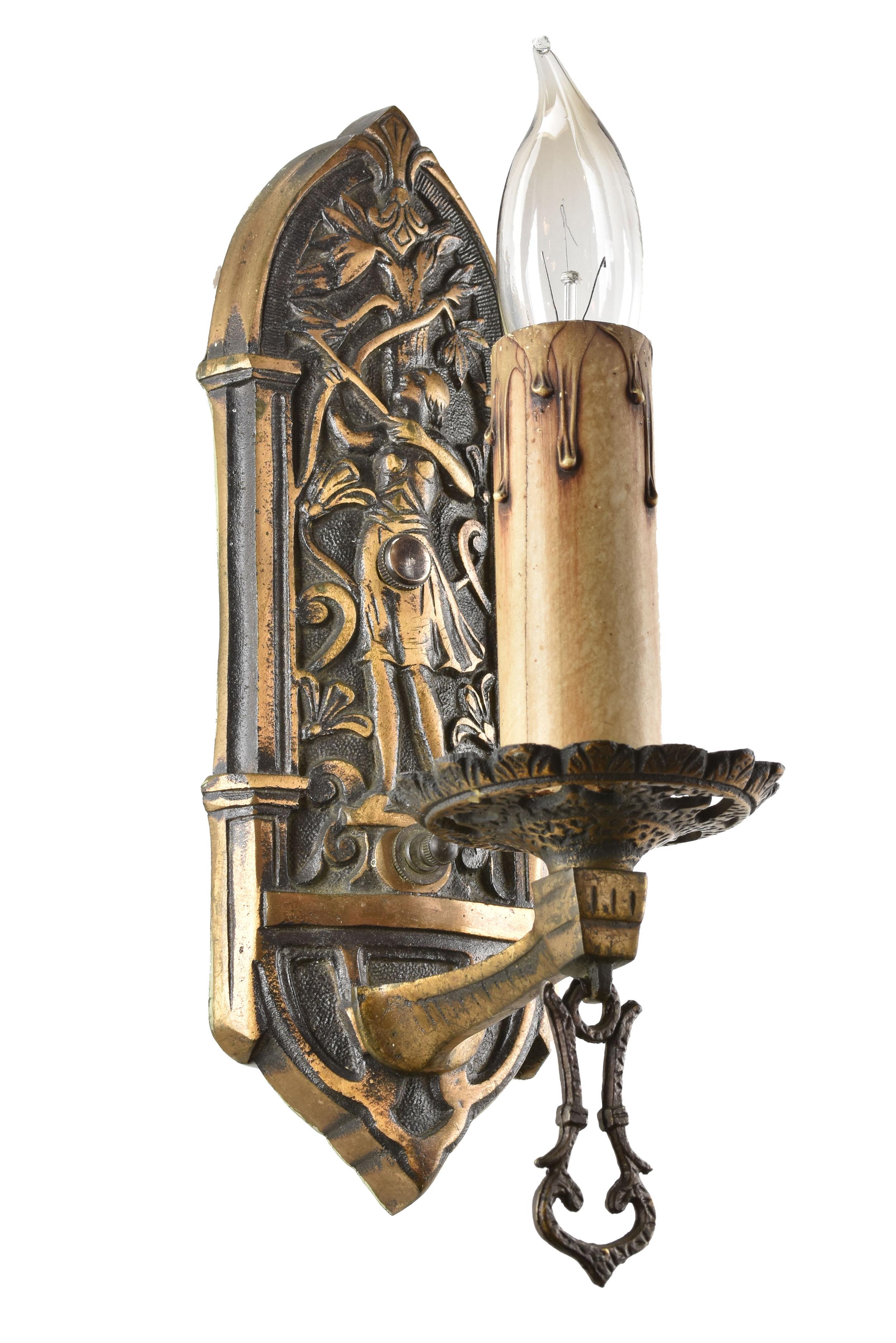 48426 single candle bronze archer sconce left.jpg