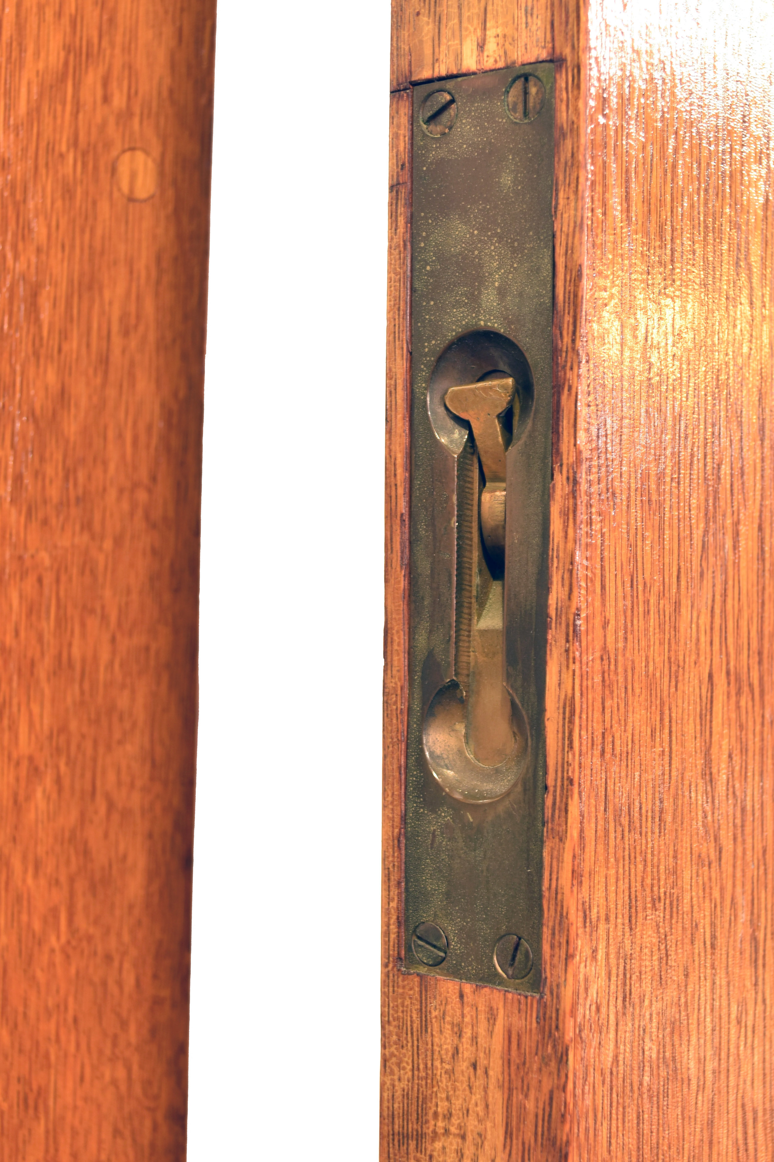 48407 oak double door 8 lite clear glass cremone latch.jpg