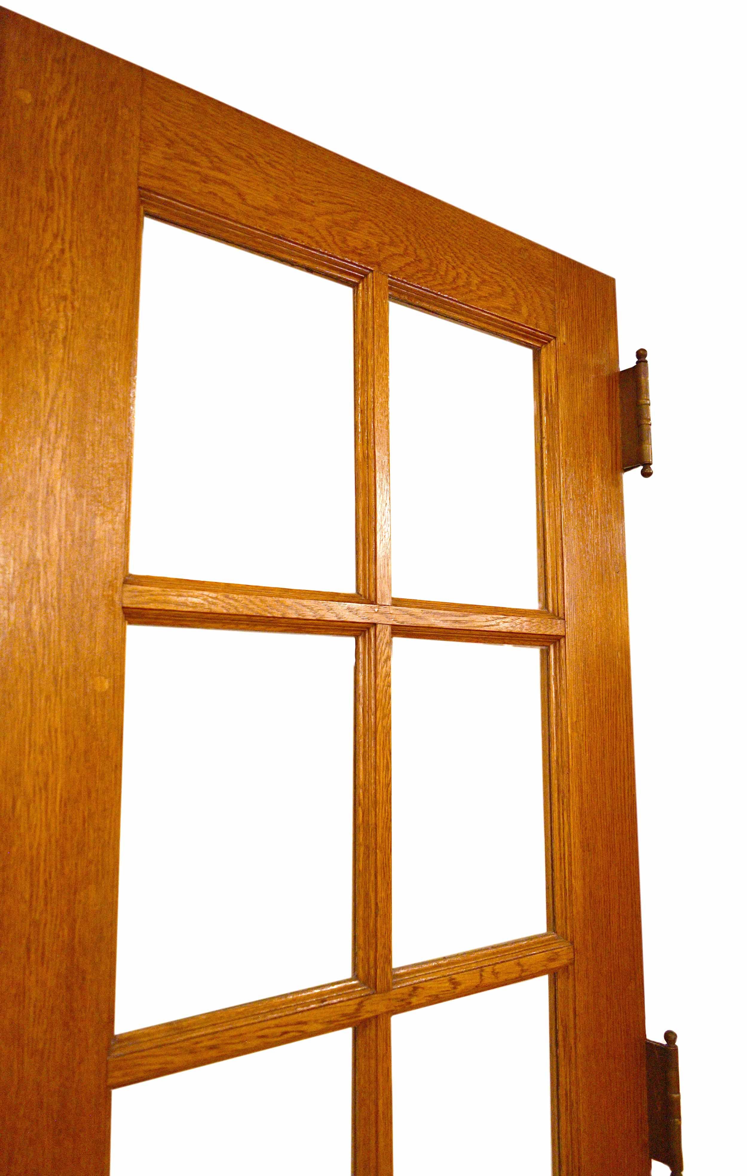 48407-oak-double-door-8-lite-clear-glass-side-view-2.jpg